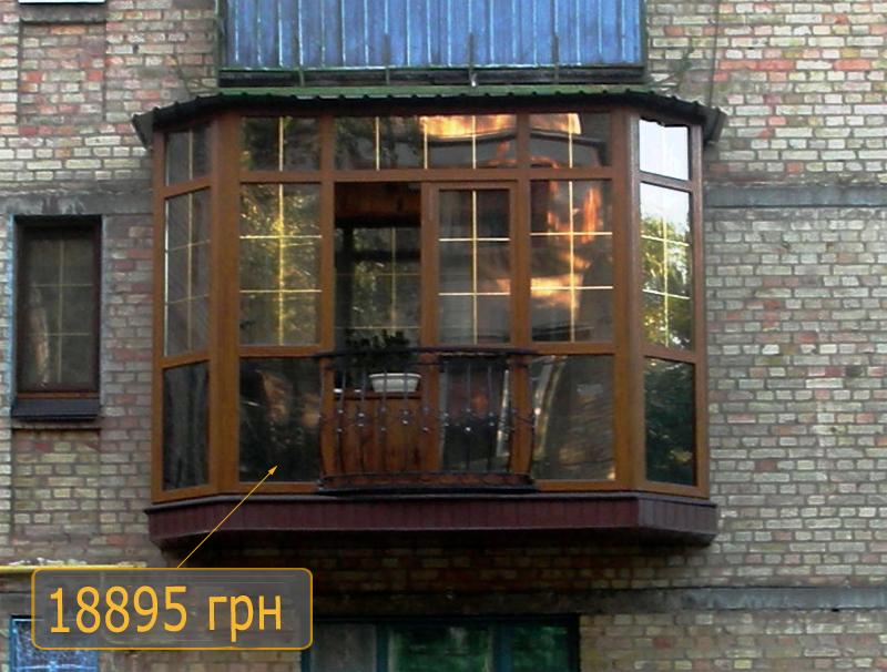 Металлопластиковые окна недорого в киеве, цена от 1750 грн -.